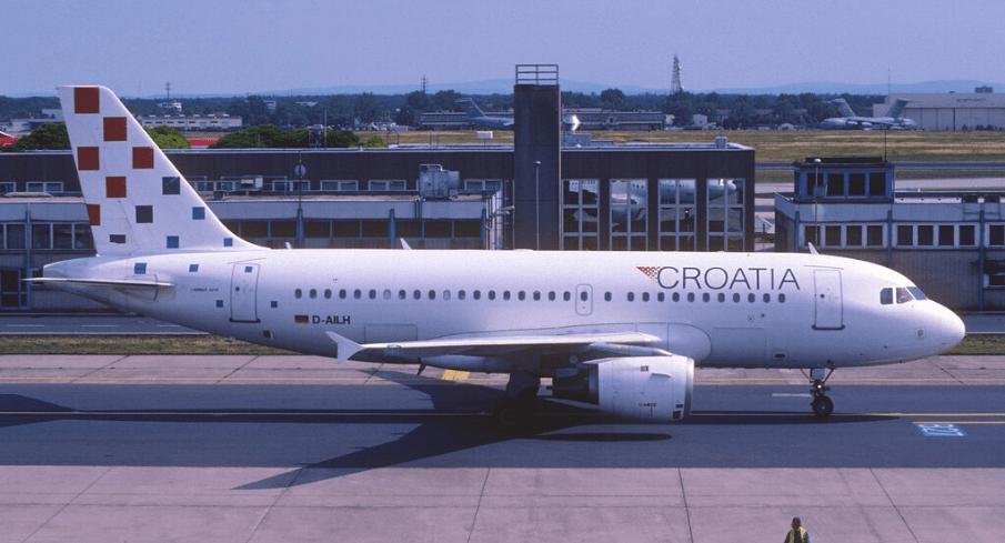 Otkazan let Croatia Airlines