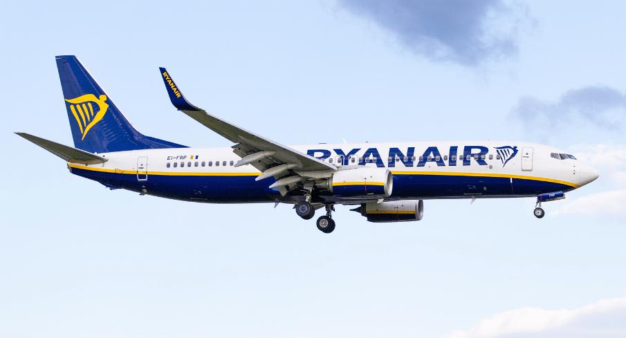 Otkazan let - Ryanair